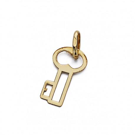 Colgante llave oro 18k [AA0160]