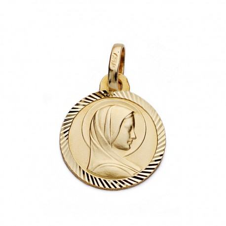 Medalla oro 9k francesa 19mm. [AA0691]