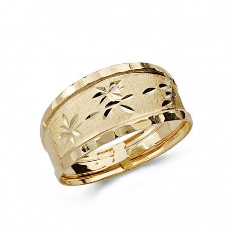 Sortija oro 9k tallada [AA0716]