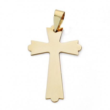 Colgante cruz oro 9k 25mm. [AA0754]