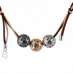 Gargantilla collar Queka Plata de Ley 925 colección Marina [AA0867]