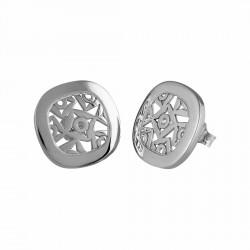 Pendientes Queka plata Ley 925m colección Anouska [AA0855]