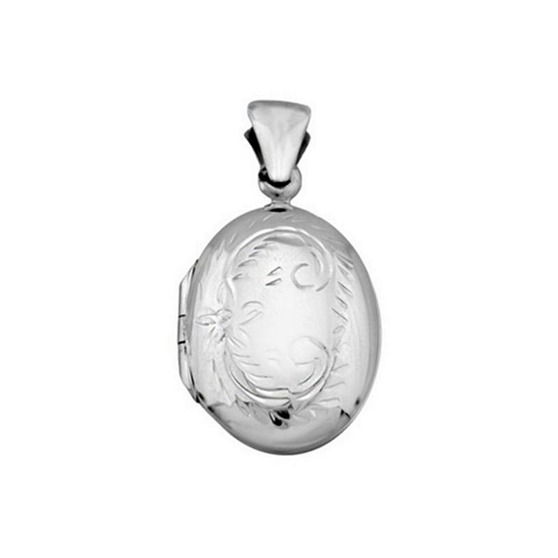 buscar el más nuevo calidad estable promoción especial Colgante guardapelo plata ley 925m rodiada portafoto [AA0951]
