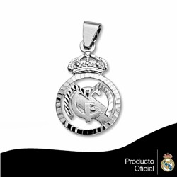 Colgante escudo Real Madrid Plata de ley calado [806]