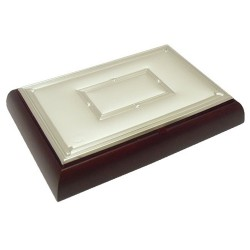 Joyero madera plata Jórsil [4316]