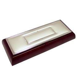 Joyero madera plata Jórsil [4315]