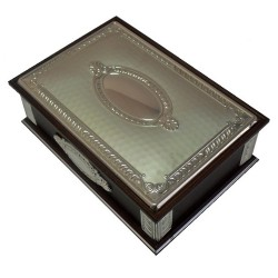 Joyero madera plata Jórsil [4313]
