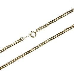 Cadena Gold Filled 14k/20 40cm. barbada [2424]