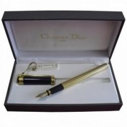 Pluma Christian Dior oro [3718]