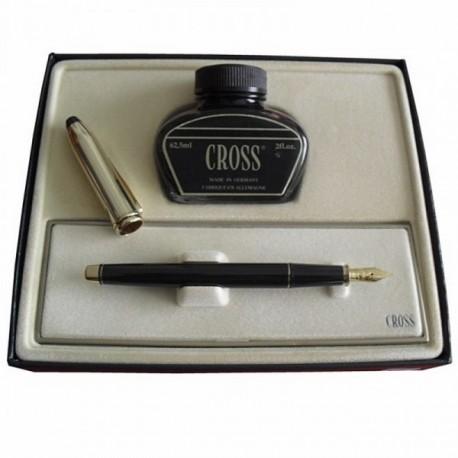 Pluma Cross chapada oro [3735]