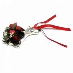 Bouquet plata rojo [4335]