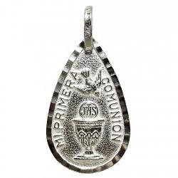 Medalla plata Ley primera comunión [1674]