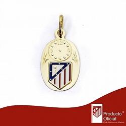Medalla escudo Atlético de Madrid oro de ley 18k esmalte [6984]