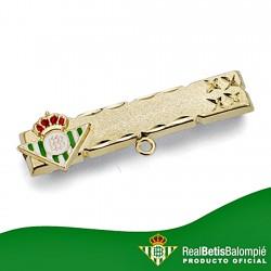 Alfiler escudo Real Betis oro de ley 18k bebé esmalte [8616]