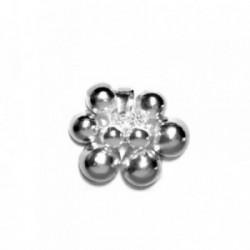 Colgante plata Ley 925m bolas movibles 3 bolas 6mm [845]
