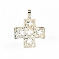 Cruz oro 18k calada cruces [AA4955]
