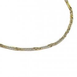 Pulsera cadena oro [52]