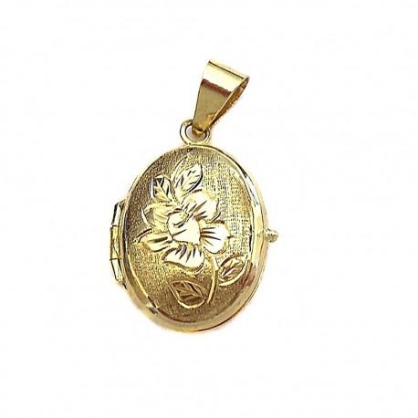 Colgante oro guardapelo [296]