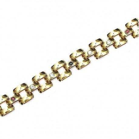 Pulsera cadena oro [633]