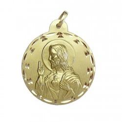Medalla oro 18K escapulario [98]