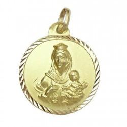 Medalla oro 18k [590]