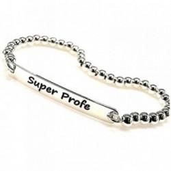 Pulsera plata ley 925m chapa 40x5mm. SUPER PROFE [AB0250]