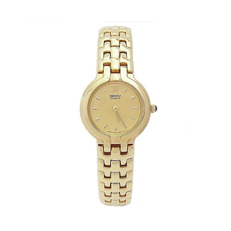 Reloj banado en oro mujer precio