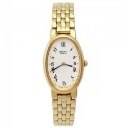 Reloj Seiko SXNK94P1 Quartz mujer chapado oro