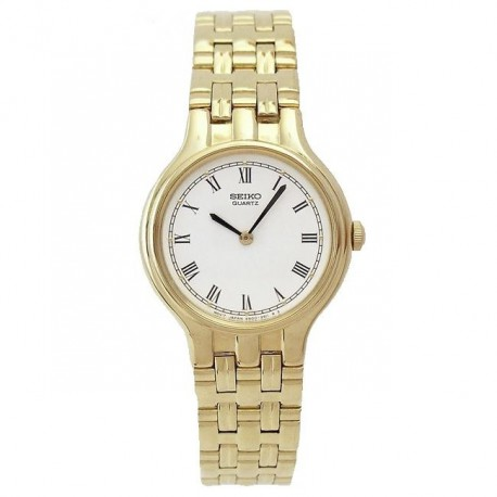 Reloj Seiko 4N00-0811 272035 Quartz mujer chapado oro