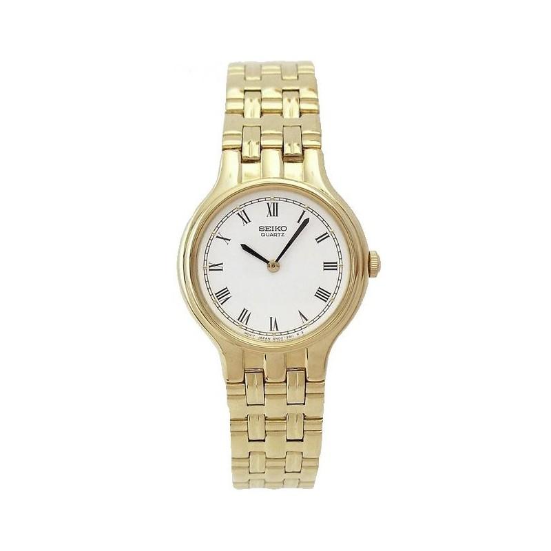 78c3decc78c8 Reloj Seiko 4N00-0811 272035 Quartz mujer chapado oro