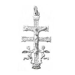 Cruz Caravaca plata Ley 925m 35mm. [7813]