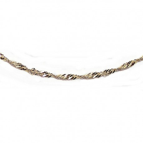 Cadena oro 40cm. [4603]