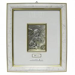 Cuadro bebé plata Ley Farco [4161]