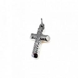 Cruz plata Ley 925m electroforming 28mm. [AB1732]