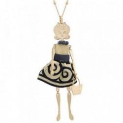 Colgante collar BOCCADAMO MYA GOLD muñeca vestido sartorial [AB1934]