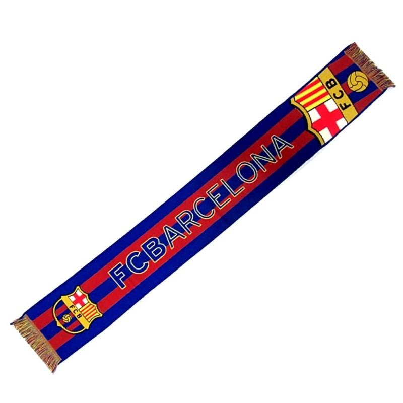 997da6735836d Bufanda F.C. Barcelona gran escudo telar  AB2206
