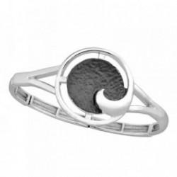 Pulsera ANTONELLI CRUISE bronce extensible centro espiral [AB2485]