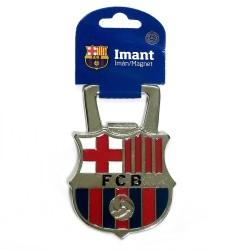 Imán abrebotellas F.C. Barcelona escudo abridor metálico esmaltado [AB2186]