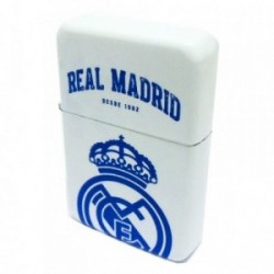 Encendedor Real Madrid blanco recargable gasolina [AB2802]