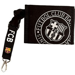 Cartera F.C. Barcelona seal negra [AB2194]