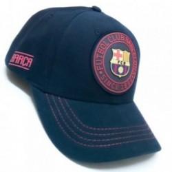 Gorra F.C. Barcelona Rubber marino primer equipo [AB3457]