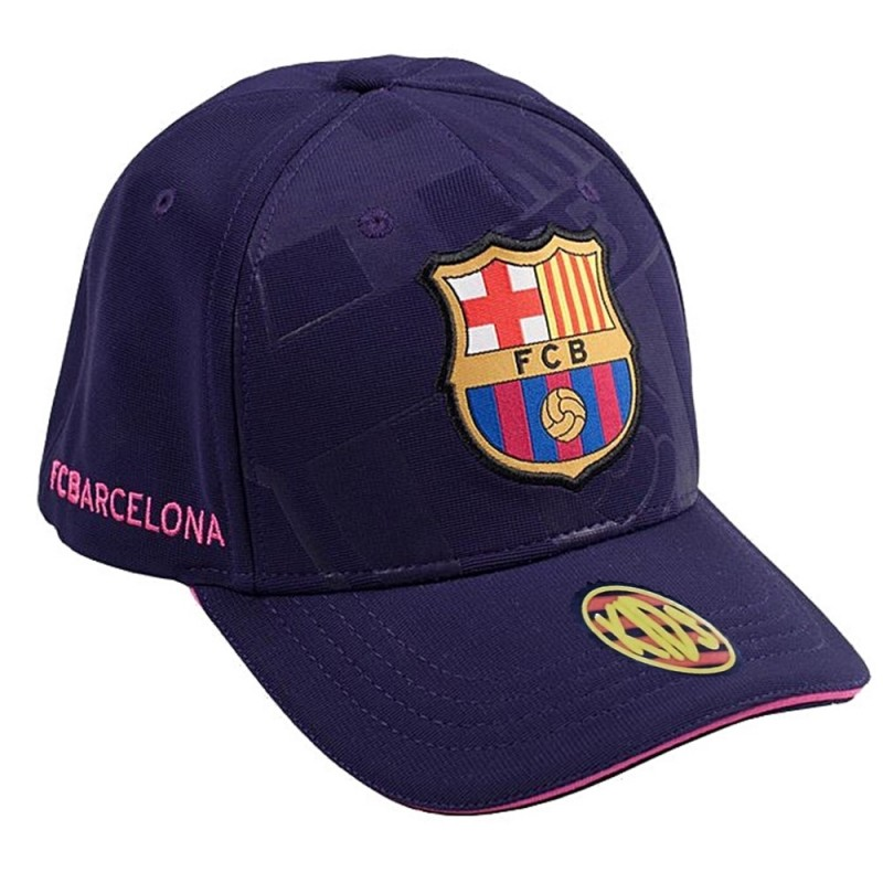 f435317e5fd26 Gorra F.C. Barcelona Soccer junior marino primer equipo  AB3461