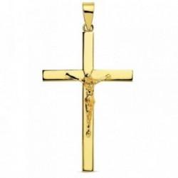 Cruz oro 18k Cristo 35mm. [AB2903]
