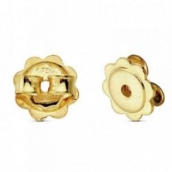 Fornitura oro 18k margarita presión. 1 unidad [AB3009]