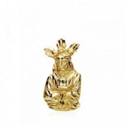 Colgante oro 18k Cristo Cautivo silueta 19mm. 1,50gr. [AB3373]