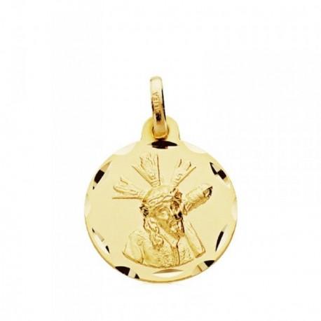 Medalla oro 9k Gran Poder 16mm. [AB3671]