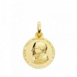 Medalla oro 18k San Jose María Escrivá 14mm. [AB3793GR]