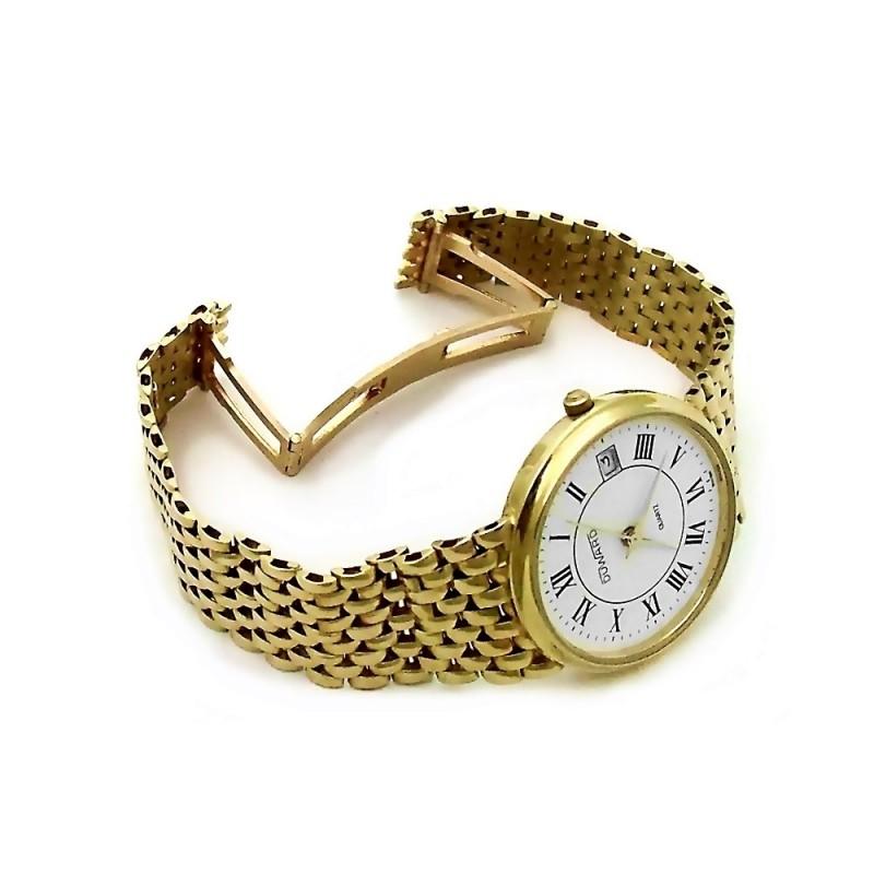 e59f4e1f7fb5 Reloj Duward oro 18k hombre panter liso cierre oculto 6324  AB3893