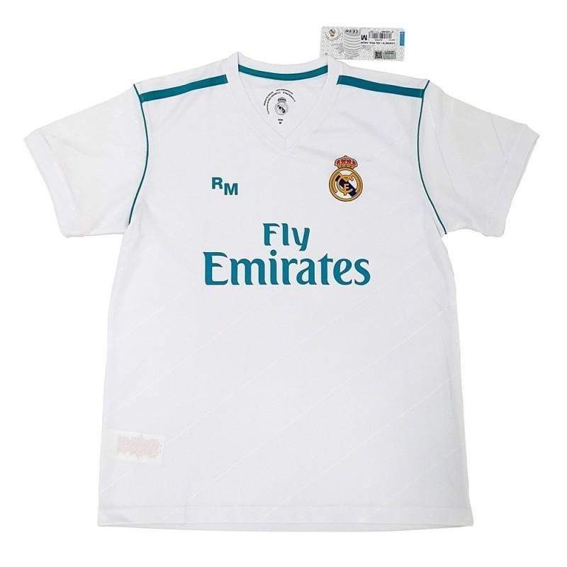 Camiseta Real Madrid réplica oficial adulto primera equipación  AB3898  881af25e4e569