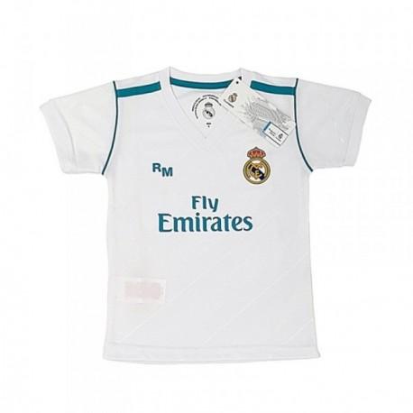 Camiseta Real Madrid réplica oficial junior primera equipación [AB3899]